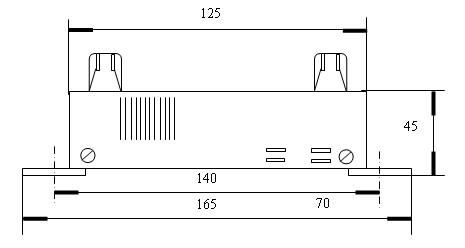 振荡器是由555时基集成电路为主体组成